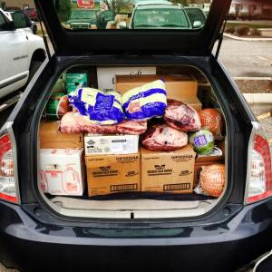 Stuffed Prius