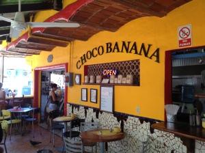 Famous Choco Banana Stand